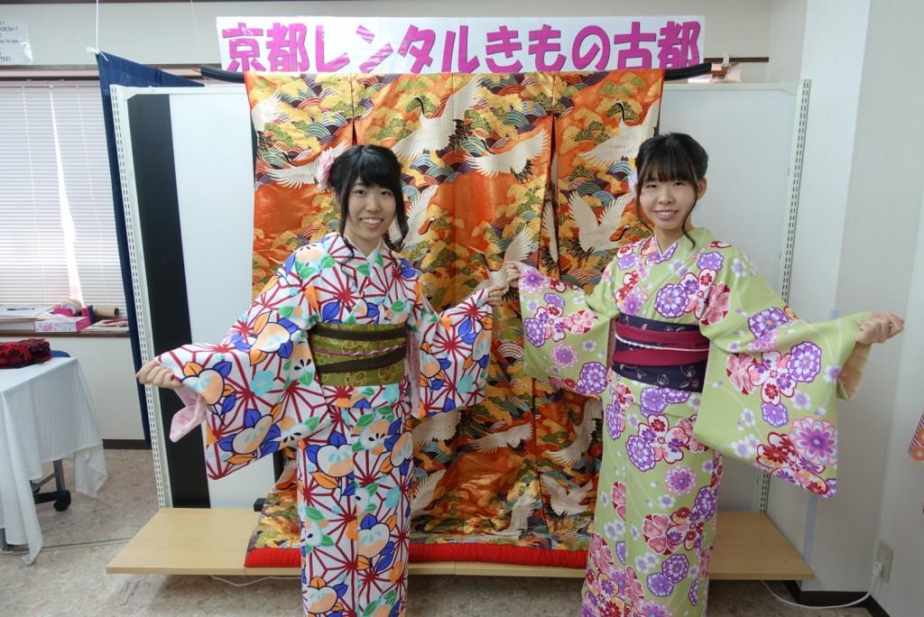 学生さん冬休み!愛知県から着物レンタル!2016年12月28日1
