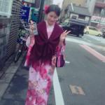 東北からの修学旅行生!京都で着物レンタル♪2016年12月5日5