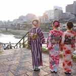 九州から着物レンタル❣日中は祇園❣夜は嵐山花灯路❣2016年12月9日5