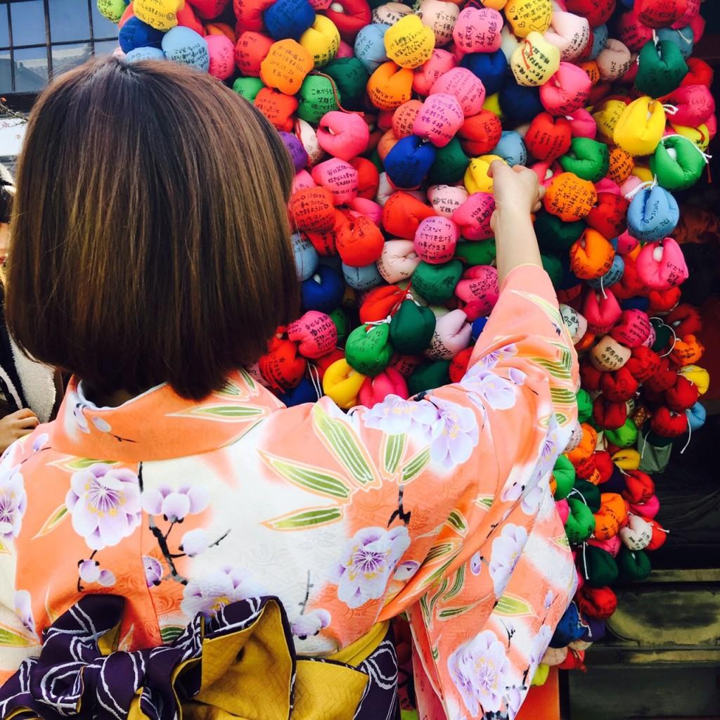 韓国から着物レンタル!京都で舞妓さんと❣2016年12月25日15