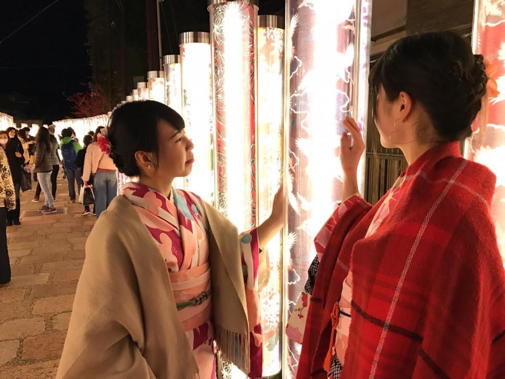 韓国から着物レンタル!京都で舞妓さんと❣2016年12月25日32