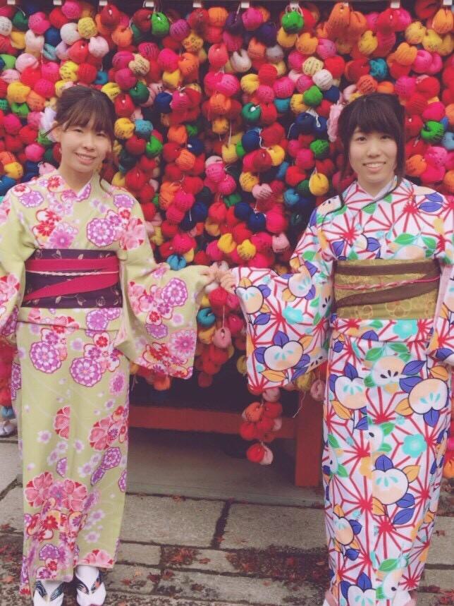 学生さん冬休み!愛知県から着物レンタル!2016年12月28日9