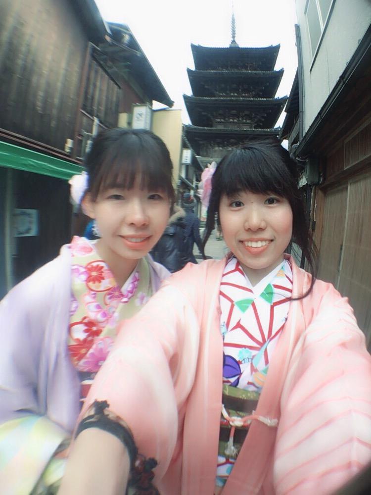 学生さん冬休み!愛知県から着物レンタル!2016年12月28日10