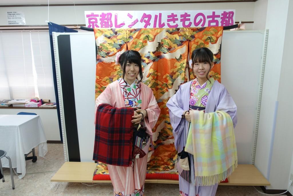 学生さん冬休み!愛知県から着物レンタル!2016年12月28日3
