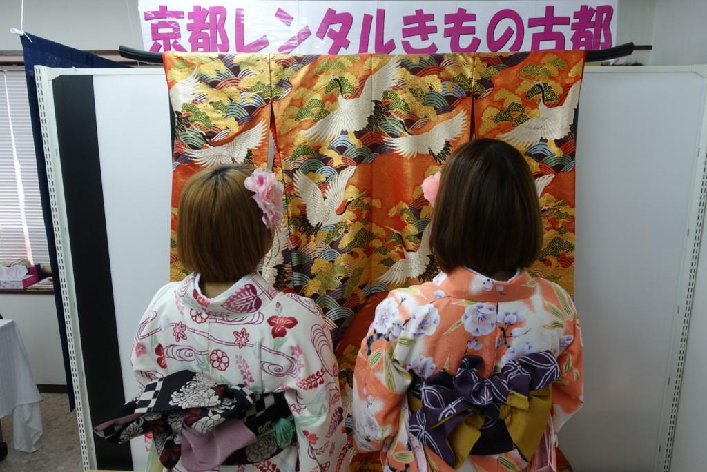 韓国から着物レンタル!京都で舞妓さんと❣2016年12月25日5