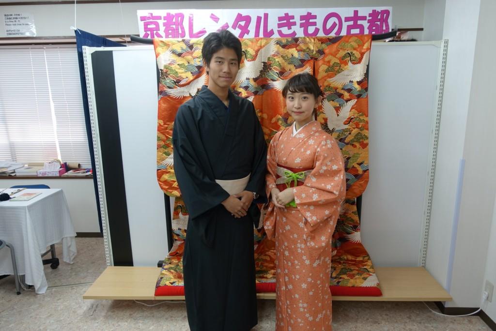 韓国から着物レンタル!京都で舞妓さんと❣2016年12月25日7