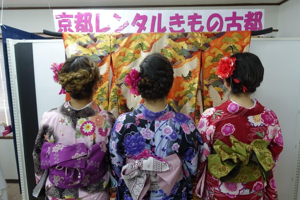 韓国から着物レンタル!京都で舞妓さんと❣2016年12月25日2