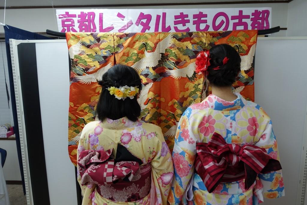 学生さん冬休み!愛知県から着物レンタル!2016年12月28日6
