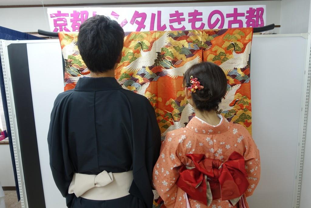 韓国から着物レンタル!京都で舞妓さんと❣2016年12月25日8