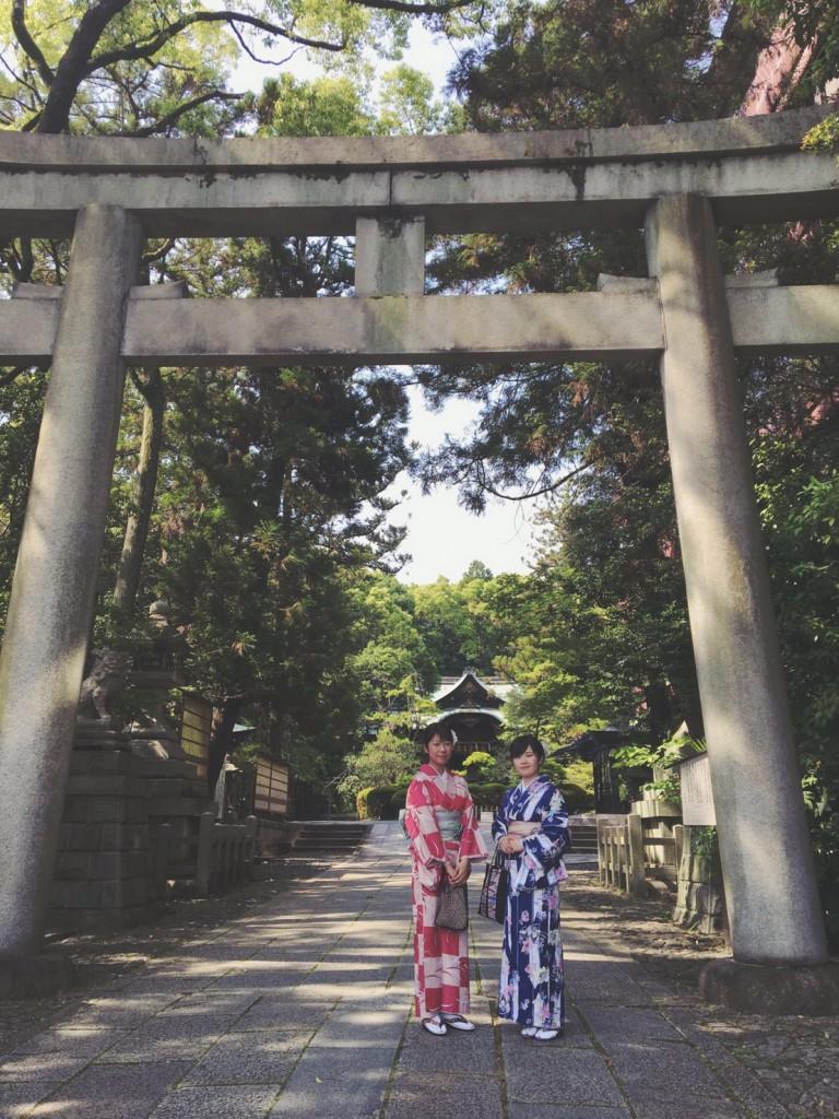 貴船神社から岡崎神社へ2017年5月23日1