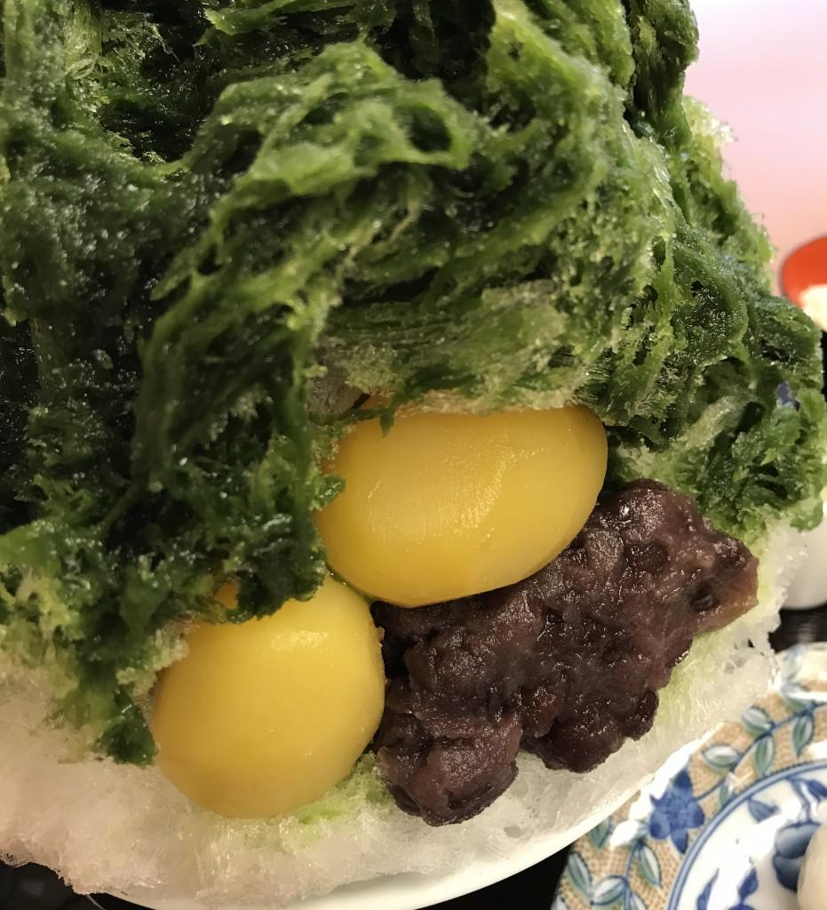 二條若狭屋 寺町店「宇治金時」かき氷7