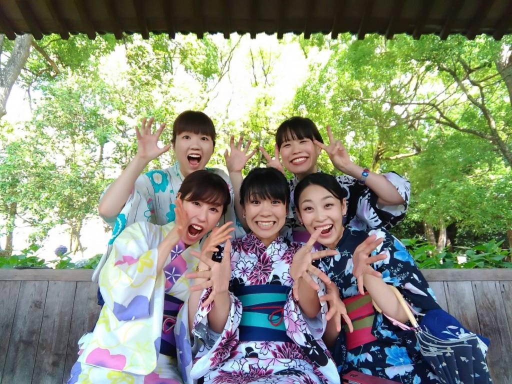 浴衣レンタルで藤森神社のあじさいを♪2017年6月13日3