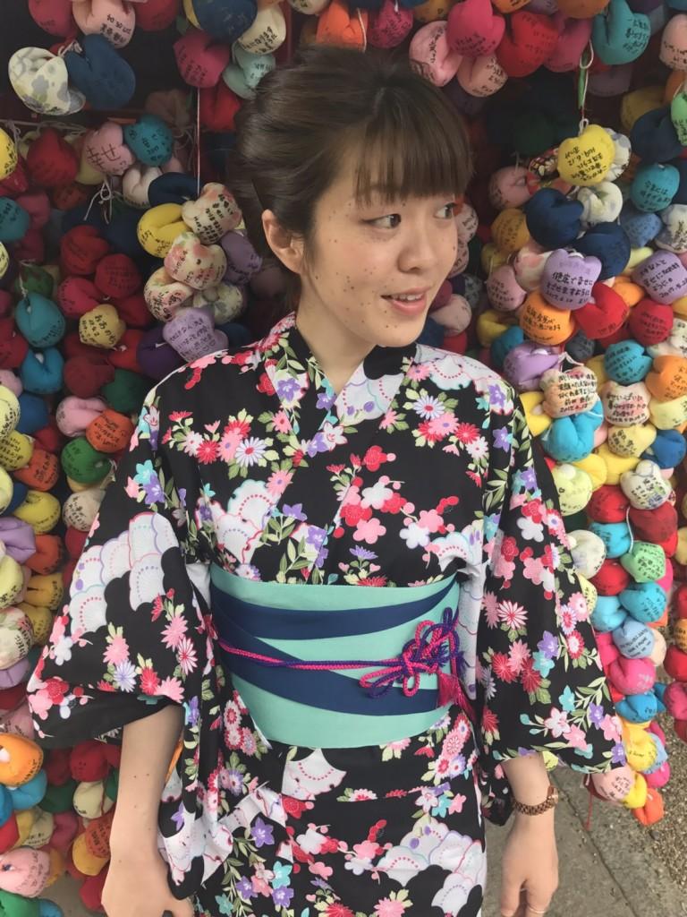 浴衣レンタルで藤森神社のあじさいを♪2017年6月13日5