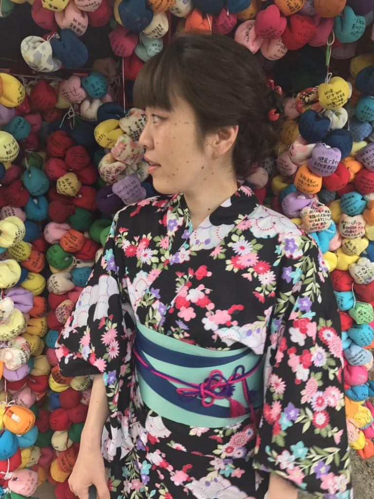浴衣レンタルで藤森神社のあじさいを♪2017年6月13日6