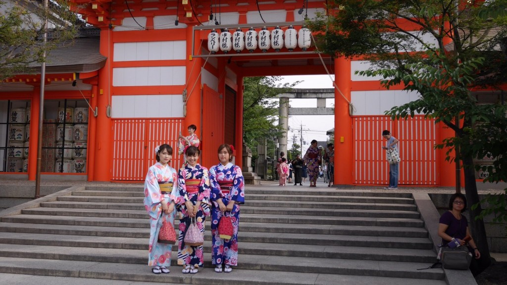 祇園白川・巽橋を散策(^^♪2017年6月17日5