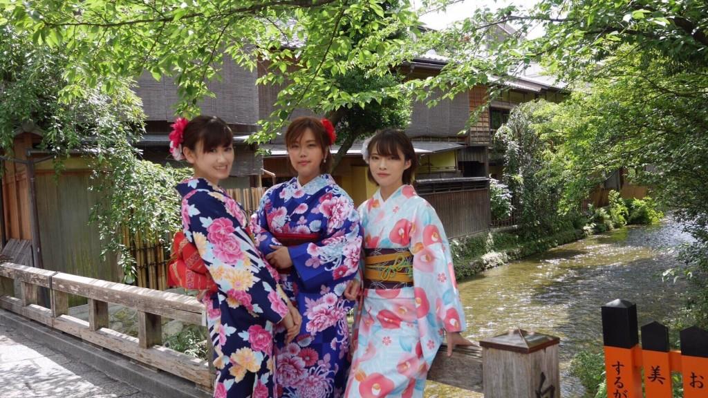 祇園白川・巽橋を散策(^^♪2017年6月17日7