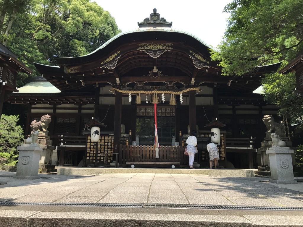 うさぎ神社として有名な「東天王 岡崎神社」2