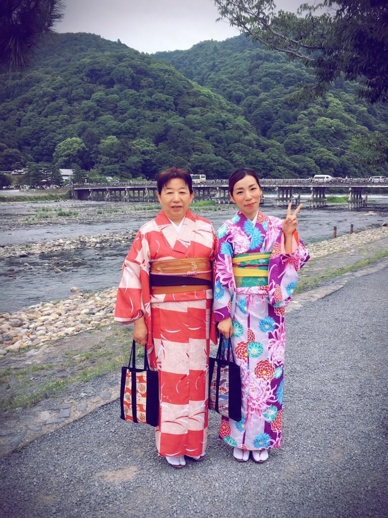 北海道から親子で嵐山へ❣2017年6月27日5