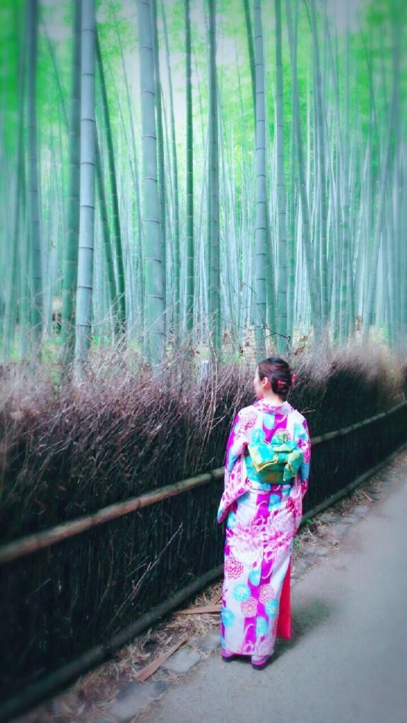 北海道から親子で嵐山へ❣2017年6月27日6