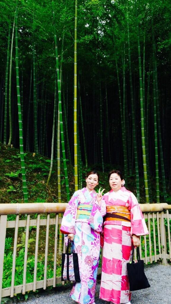 北海道から親子で嵐山へ❣2017年6月27日7