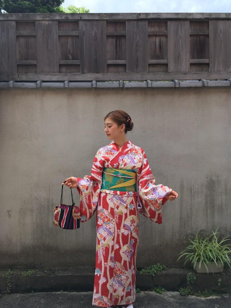 韓国から着物レンタルで八坂庚申堂へ♪2017年6月28日4