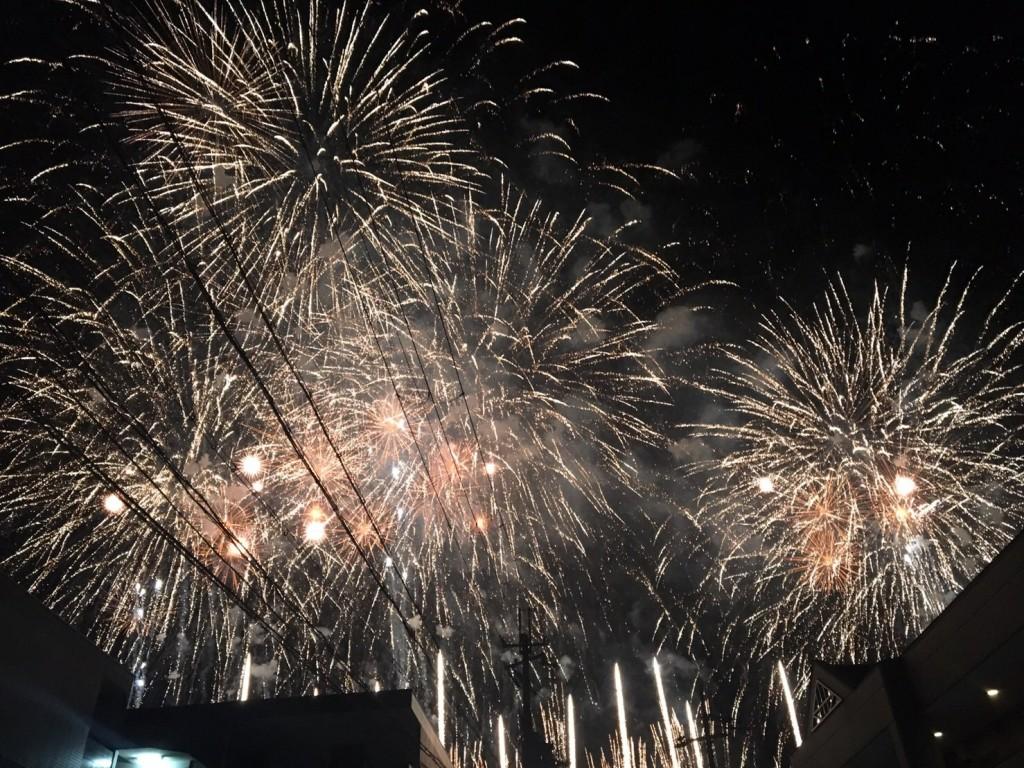 第71回京都南丹市花火大会2017年8月14日36