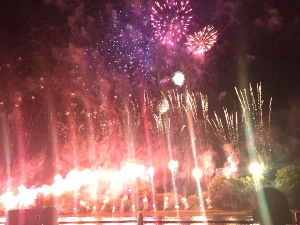 第71回京都南丹市花火大会2017年8月14日37