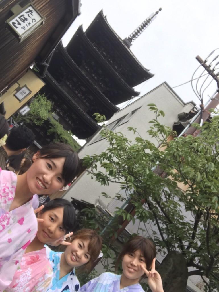 お盆も人気の八坂庚申堂❣2017年8月15日2