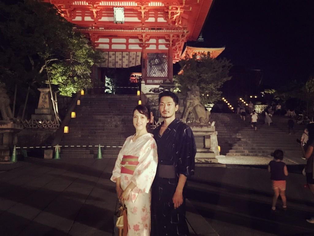 京都五山の送り火2017 2017年8月16日18