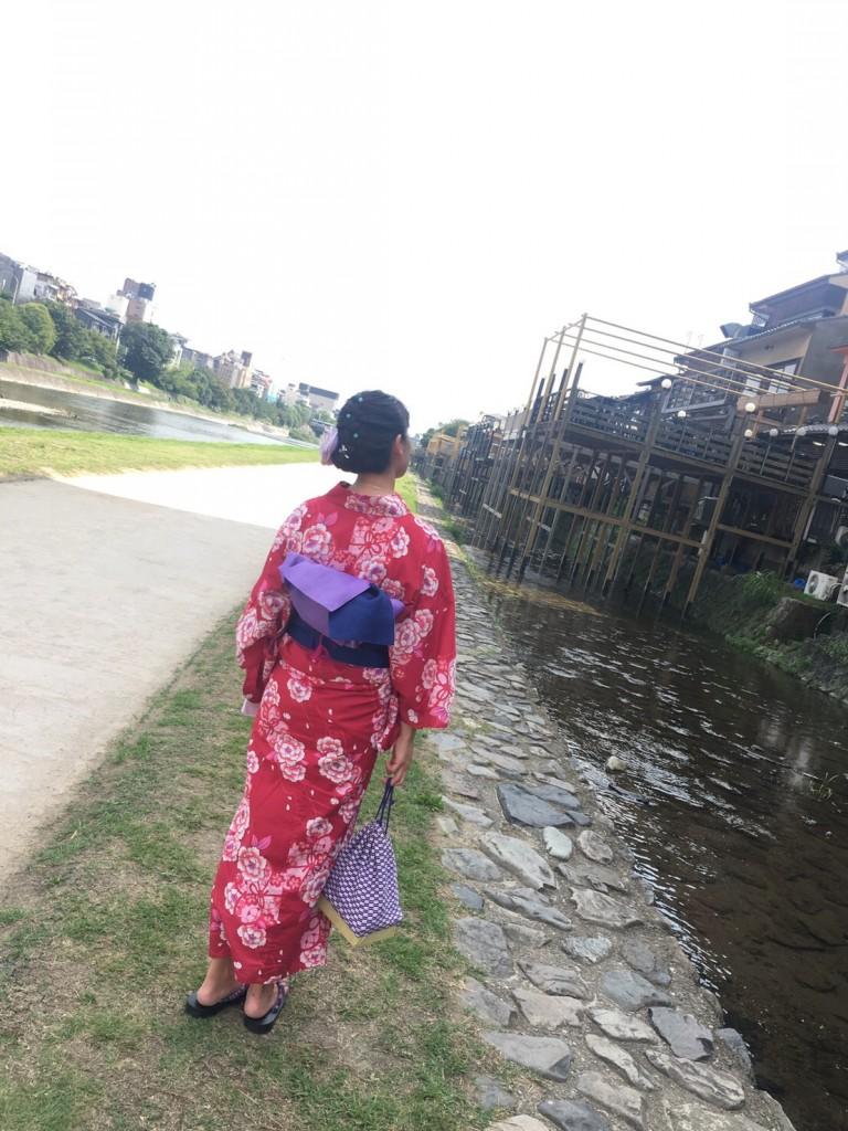 夏休み♪仲良し親子 浴衣でホテルランチ❣2017年8月21日1