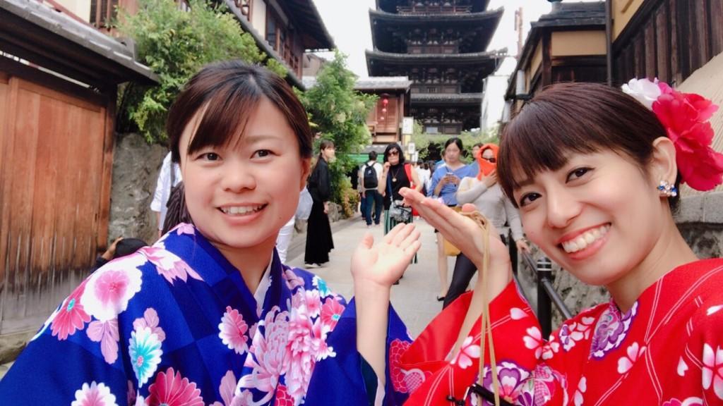 女子高生♡八坂神社で縁結び❣2017年9月24日3