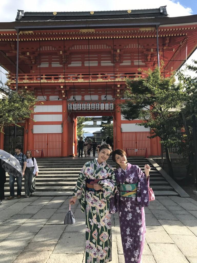 まだまだ人気続く、八坂庚申堂♡2017年9月28日1