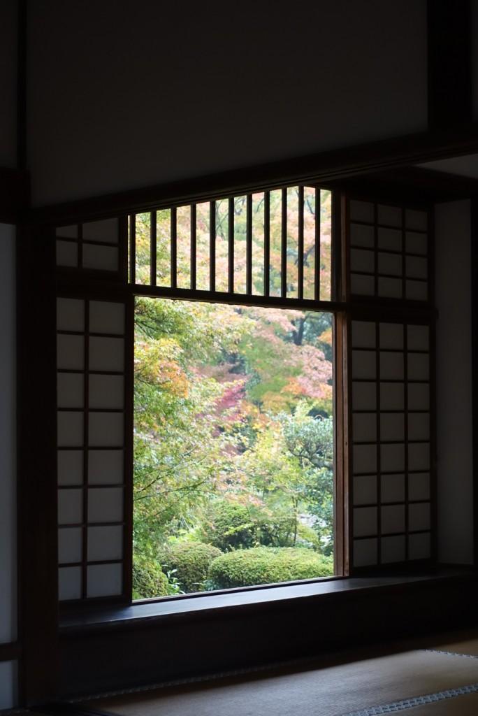 源光庵(げんこうあん)悟りの窓と迷いの窓11