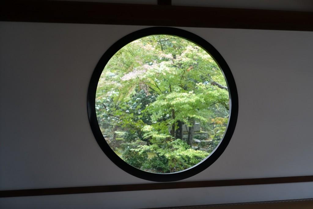 源光庵(げんこうあん)悟りの窓と迷いの窓10