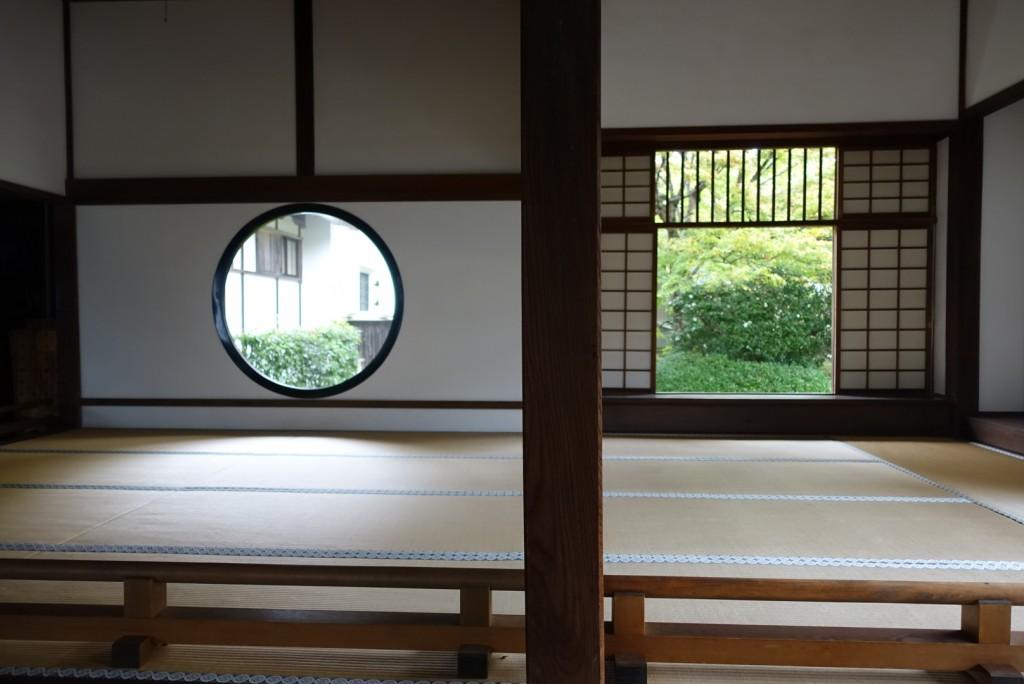 源光庵(げんこうあん)悟りの窓と迷いの窓12
