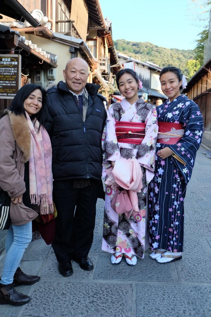 初めての着物体験で二年坂や清水寺を散策♪2017年12月20日4