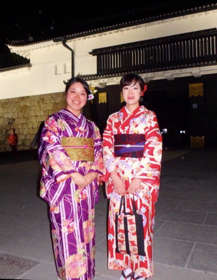 ママ友と京都で着物体験♪2017年12月3日5