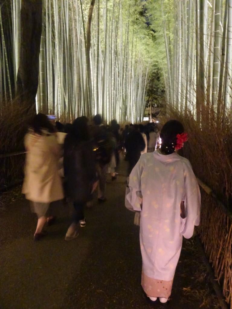 嵐山花灯路2017始まりました~2017年12月9日12