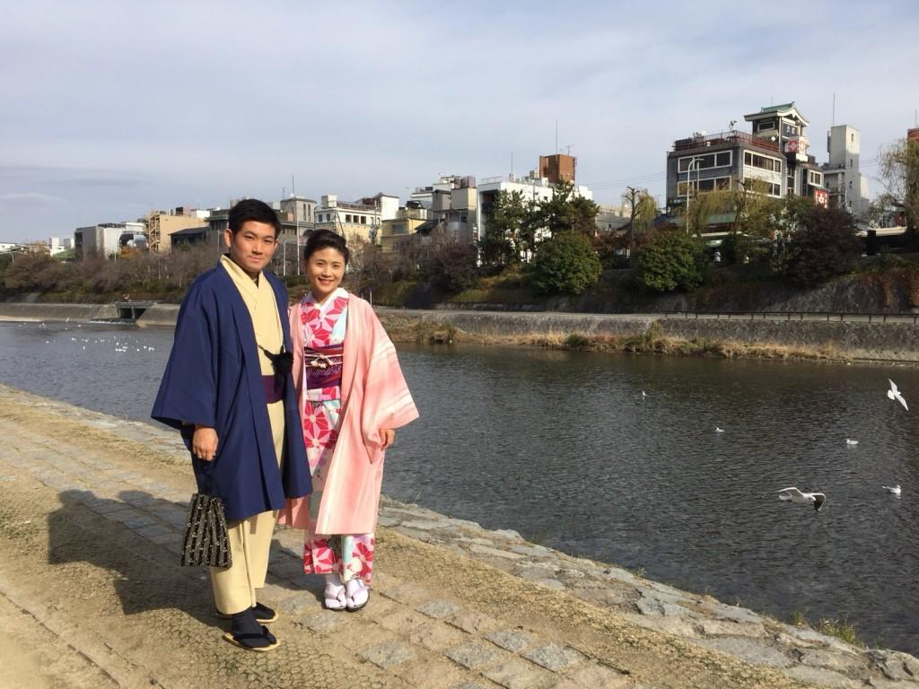 修学旅行生❣抹茶館からの着物レンタル♪2017年12月10日2