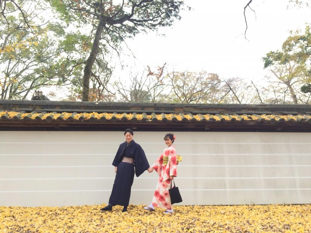修学旅行生❣抹茶館からの着物レンタル♪2017年12月10日10