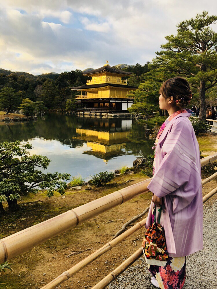 清水寺にて、2017今年の漢字は「北」2017年12月12日3