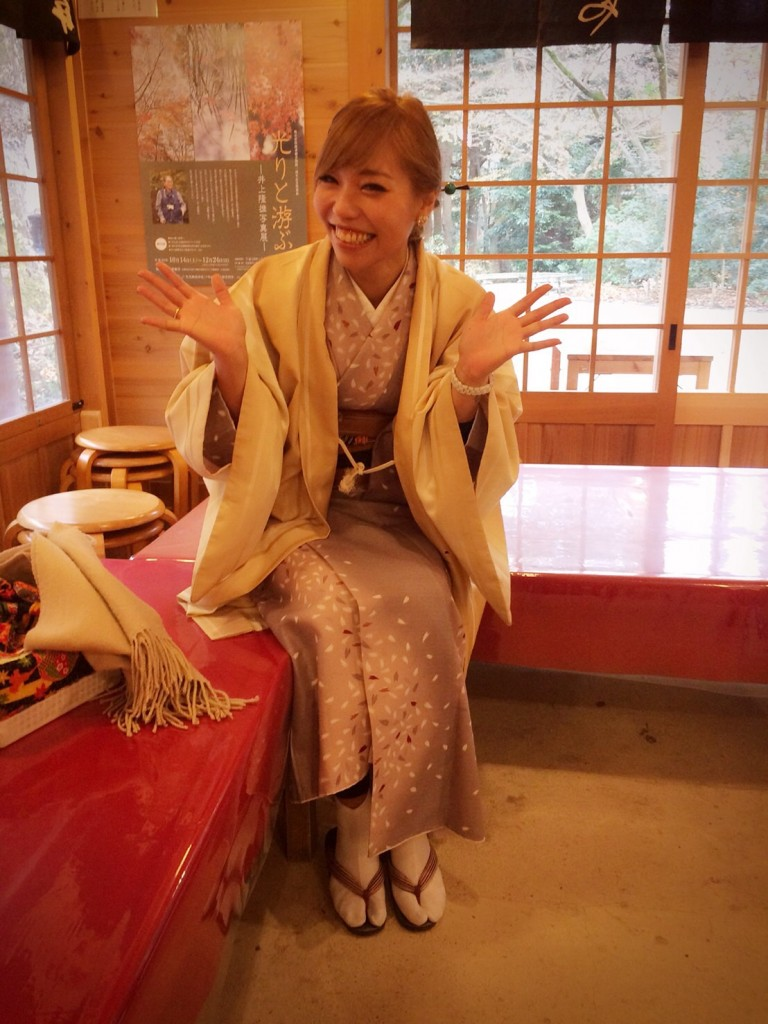 着物でランチからの下鴨神社へ❣2017年12月14日3
