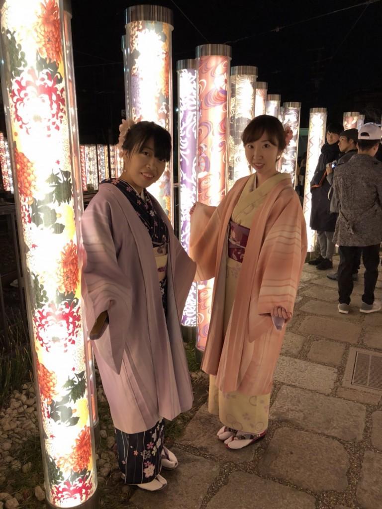 嵐山花灯路2017 明日までです!2017年12月16日11