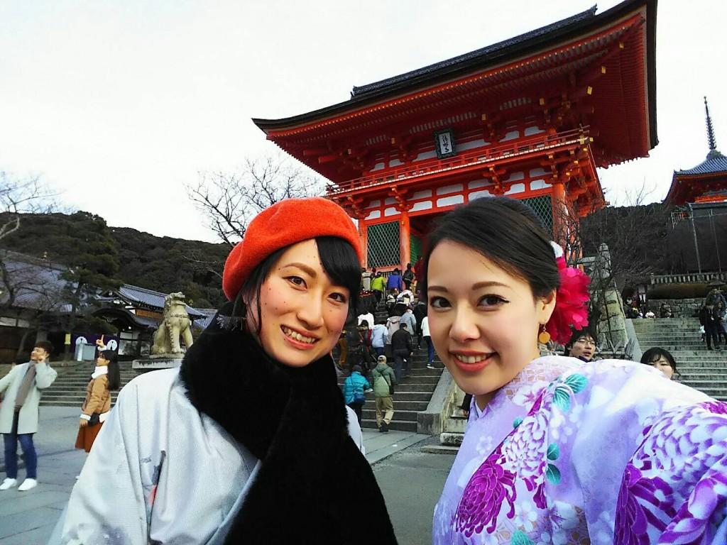 清水 京あみ「八つ橋シュークリーム」2018年1月7日8