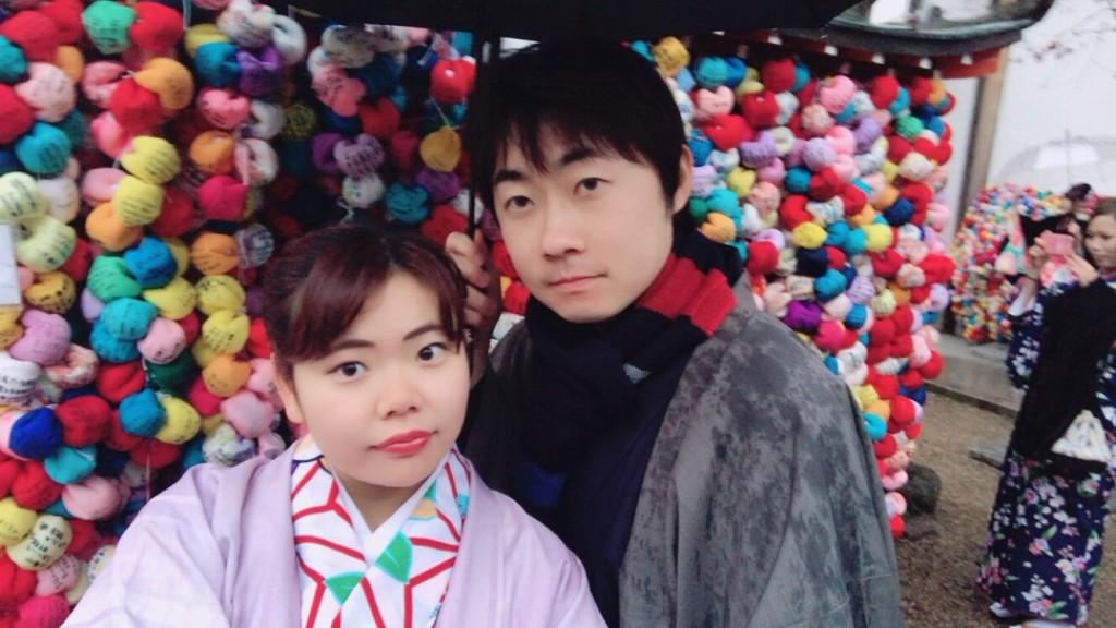 市バス・京都バス一日乗車券で粟田神社などへ♪2018年1月10日1