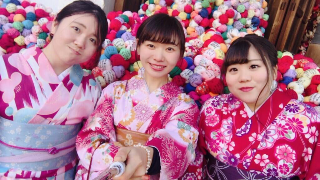 インドネシアから八坂神社や東映太秦映画村へ♪2018年1月13日1