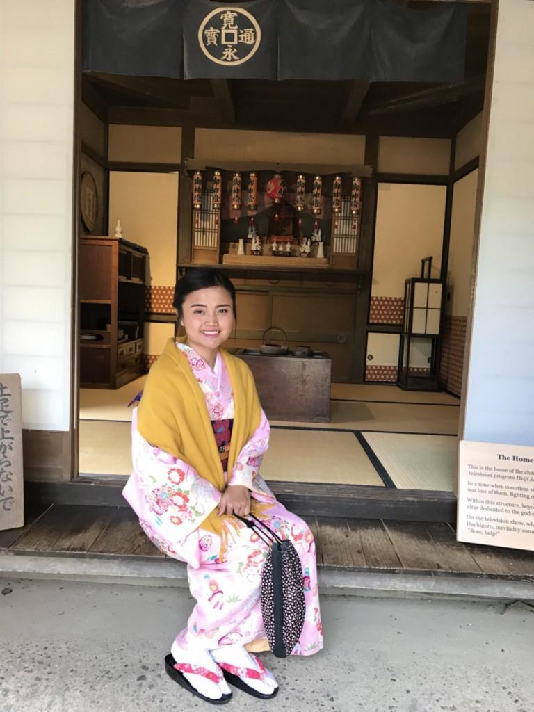 インドネシアから八坂神社や東映太秦映画村へ♪2018年1月13日6