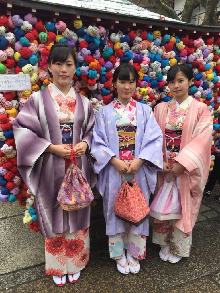 人気の八坂庚申堂と嵐山キモノフォレスト2018年1月14日4