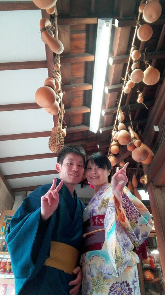人気の八坂庚申堂と嵐山キモノフォレスト2018年1月14日7