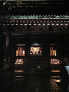 知恩院 秋の紅葉ライトアップ6【四条烏丸 着物レンタル 京都レンタルきもの古都】